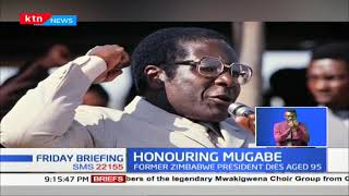 Kenya to mourn Uncle Bob Mugabe with half-mast flag