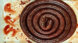 How Its Made: Black Pudding. How To Make Black Pudding/Blood Sausage. #SRP #Blackpudding