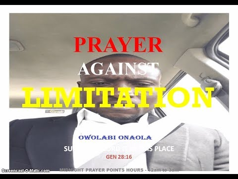 160 MIDNIGHT BATTLE PRAYER POINTS By DR D K OLUKOYA | Midnight