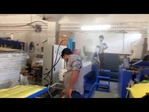 Plastic Recycling Granules Machine