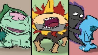 Pyroar  - (Pokémon) - Pokémon Speed Doodles | Mega Bulbasaur, Pyroar and Mega Wobbuffet