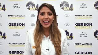 Connie Jimenez , Candidata Asambleísta Nacional del Ecuador 2021.