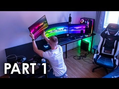 Re-Building My Gaming Setup! (Part 1)