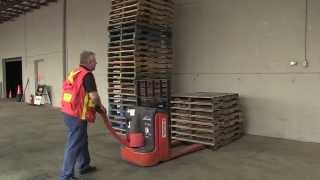 Powered Pallet Truck - Moving a Load