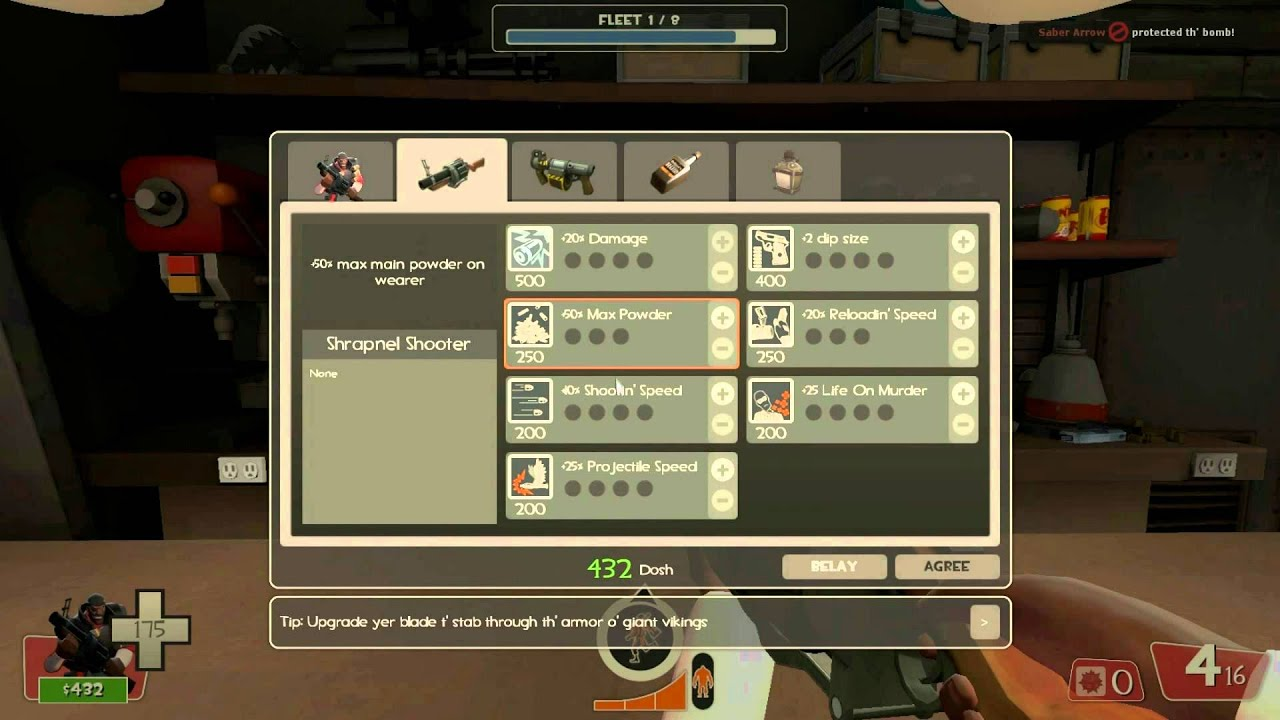Talk Like A Pirate In Team Fortress 2