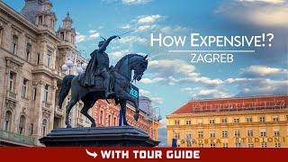 How EXPENSIVE is ZAGREB (Croatia) | Croatian Currency