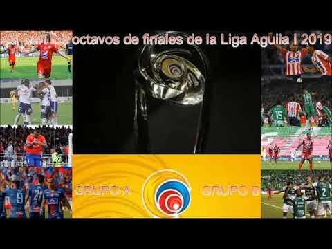 Asi van los octavos de finales de la Liga Aguila I 2019