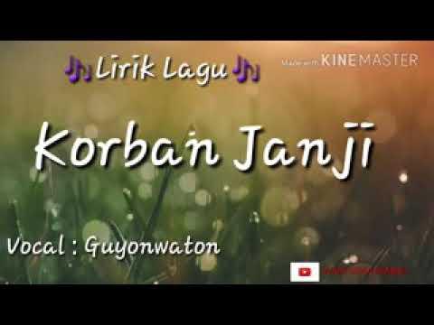 , title : 'Korban janji lirik lagu'