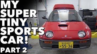1992 Autozam AZ-1 My Super Tiny Sports Car!  Part 2