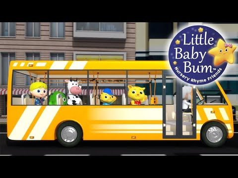 Download Wheels On The Bus | Part 17 | Nursery Rhymes | Original Song By LittleBabyBum! HD Video