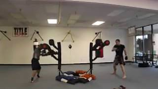Sifu Anthony Smith and Chase Morris on the BAS
