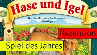 Hase & Igel / Spiel des Jahres 1979 / Anleitung & Rezension / SpieLama