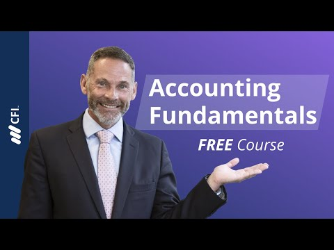 Learn Accounting Fundamentals - Free Course | Corporate Finance ...
