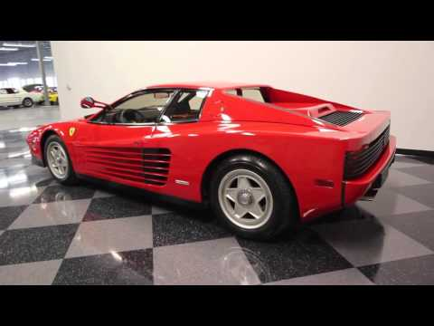 Video of '86 Testarossa - FNNC