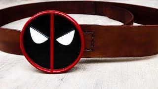 Deadpool Belt Buckle Aluminum Cast