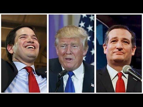 ΗΠΑ: Τραμπ και Κρουζ «μοιράστηκαν» τις νίκες σε τέσσερις Πολιτείες