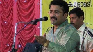 Carnatic vocal concert by Trivandrum K. Krishnakumar