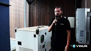 Дизельный генератор для дома - 22 кВт Dalgakiran D28CP в кожухе