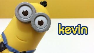 Minions McDonald's Happy Meal Toys 2015: Kevin