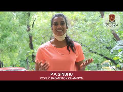 P.V. Sindhu commends Suchitra Academy's 'FitKid' Fitness Program Initiative!