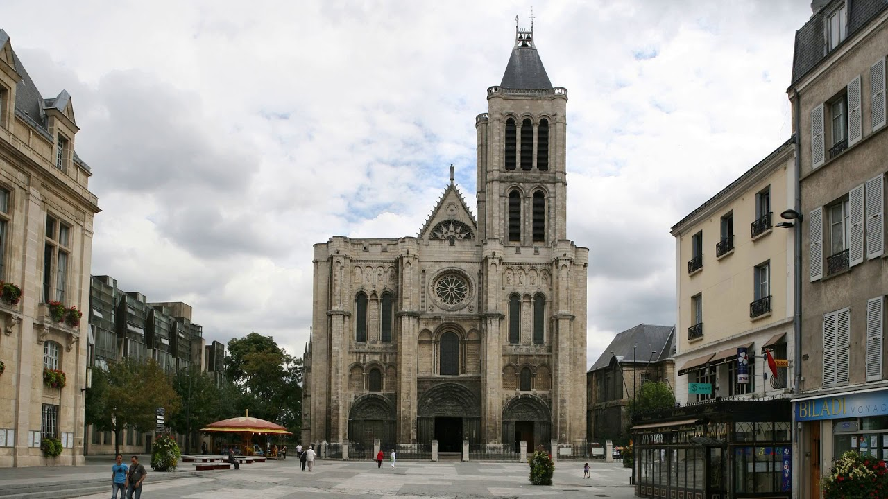 church, cathedral, saint-denis, france, paris