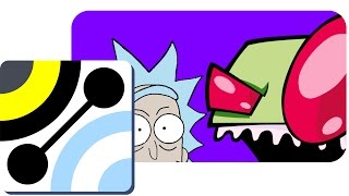 74-Pizza Party Podcast - Invader ZIM & RICK & MORTY The Return
