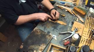 Leatherman Wave Sheath Making for USNERDOC.