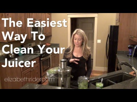 Easiest Way To Clean Your Juicer