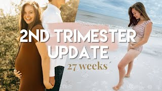 2nd Trimester Pregnancy Experience | Becoming Mom by Chelsea Crockett