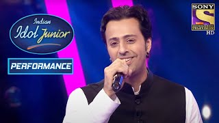 Saleem Soothes Souls With His Version Of 'Shukran Allah' | Indian Idol Junior 2