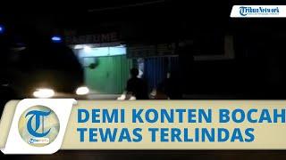 Terjadi Lagi, Demi Konten Bocah di Tangerang Tewas Terlindas Truk, Polisi: Sopir Tidak Bersalah