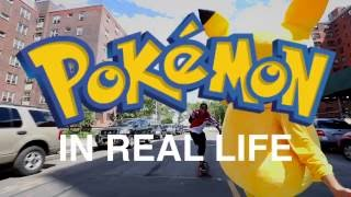 Pokémon Go IN REAL LIFE