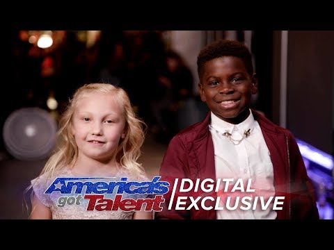 Elimination Interview: Artyon and Paige Thank America For Their Support - America's Got Talent 2017 (видео)