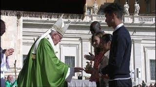 教宗揭幕世界主教會議,願聖神賜予我們夢想和希望的能力