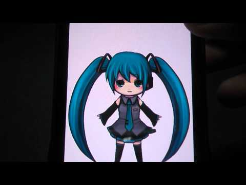 Video of MikuLiveWallpaper
