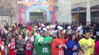preview picture of video 'Carnevale di Asciano 2014 - Prima Domenica 16/02'