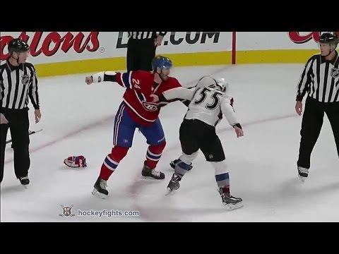 Jarred Tinordi vs. Cody McLeod