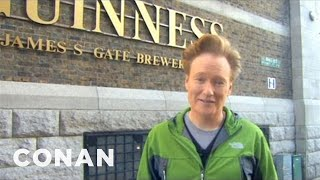 Conan Visits The Dublin Guinness Brewery - CONAN on TBS