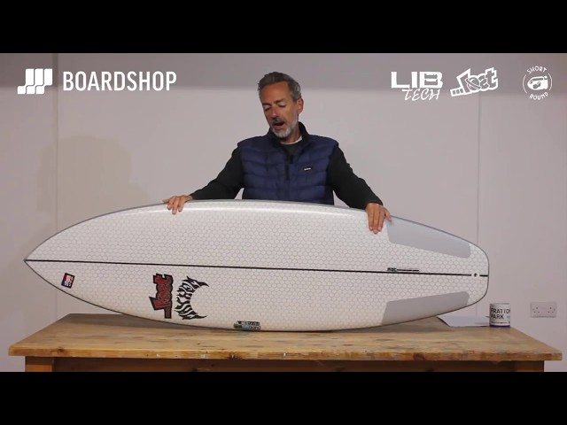Lib Tech X Lost Short Round Surfboard Review