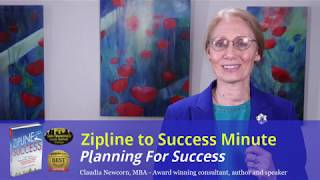Zipline Minute #5: Planning for Success