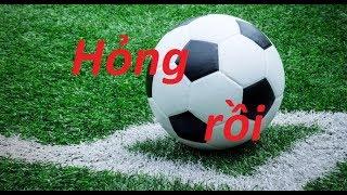 Hướng dẫn cách sửa bóng đá bi thủng dùng tạm