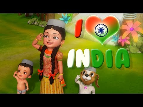 I love India |Hindi Rhymes for Children | Infobells