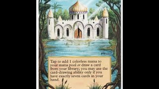 Mtg Library Of Alexandria Altered Art By FZ