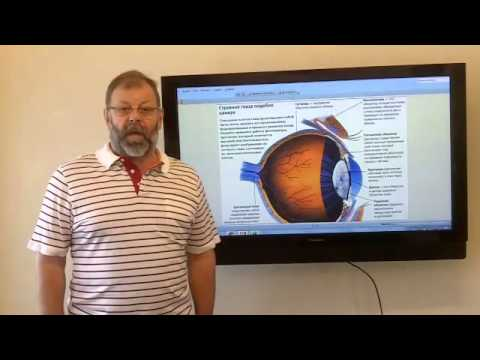 Глазное давление измеренное на аппарате