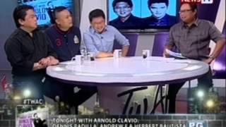 Tonight with Arnold Clavio: Dennis Padilla, Herbert Bautista, and Andrew E.