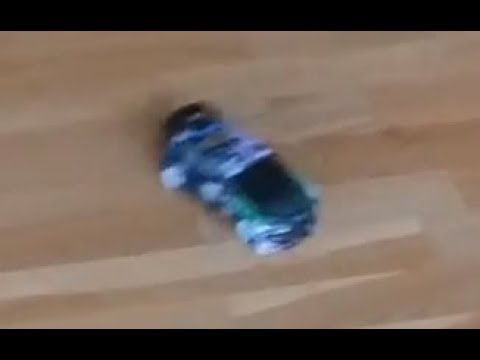 Wltoys K989 drifting ..ish with tape on the wheels from Banggood