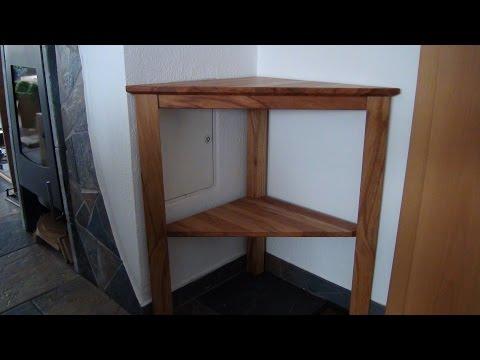 Ecktisch / Tisch  selber bauen - DIY - Helmchen