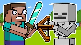 Block Squad: Minecraft Survival Mode (Animation Compilation) | ArcadeCloud
