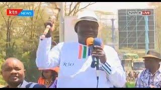 Raila Odinga leads NASA brigade in Narok as vote hunt intensifies