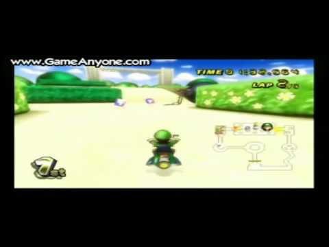 Mario Kart Wii Walkthrough 22 Bowser S Castle 3 By